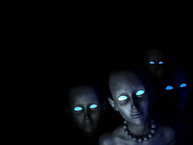 Виды инопланетян или четвертое измерение